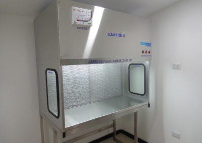 cabina de flujo 1
